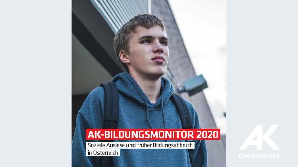 Broschüre: AK-Bildungsmonitor 2020 © AK Oberösterreich