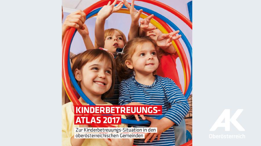 Broschüren-Cover Kinderbetreuungsatlas © -, Arbeiterkammer Oberösterreich
