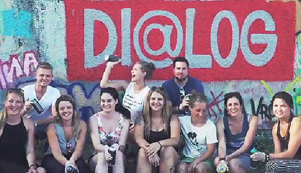 Das Team des Di@log-Workshopzentrums © AKOÖ, -