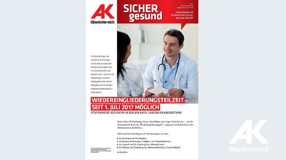 Wandzeitung Sicher Gesund 2017 - Nr. 4 © -, Arbeiterkammer Oberösterreich