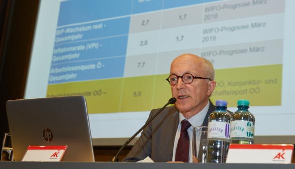 AK Direktor Dr. Josef Moser, MBA © E. Wimmer, Arbeiterkammer Oberösterreich