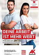 Broschüre: Jetzt Geld vom Finanzamt zurückholen © AKOÖ, -
