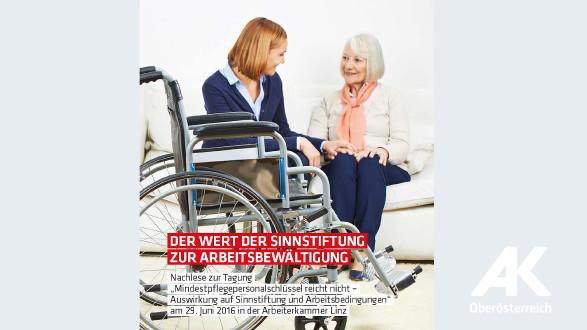 Broschüre: Der Wert der Sinnstiftung zur Arbeitsbewältigung © -, Arbeiterkammer Oberösterreich