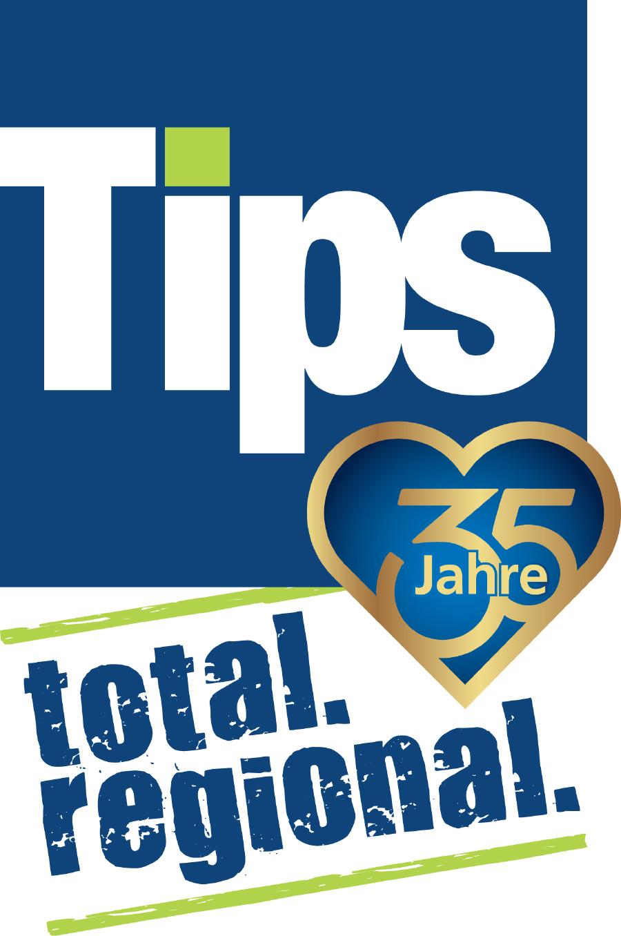 Logo 35 Jahre Tips © -, Tips