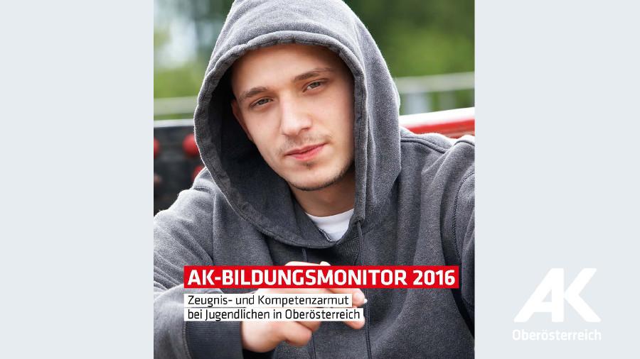 """Broschüre """"AK-Bildungsmonitor 2016"""" © -, Arbeiterkammer Oberösterreich"""
