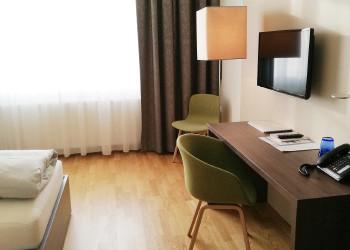 Zimmer mit Einzelbett © -, Arbeiterkammer Oberösterreich