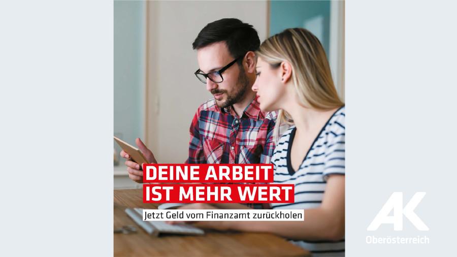 Broschüre Deine Arbeit ist mehr wert © -, Arbeiterkammer Oberösterreich