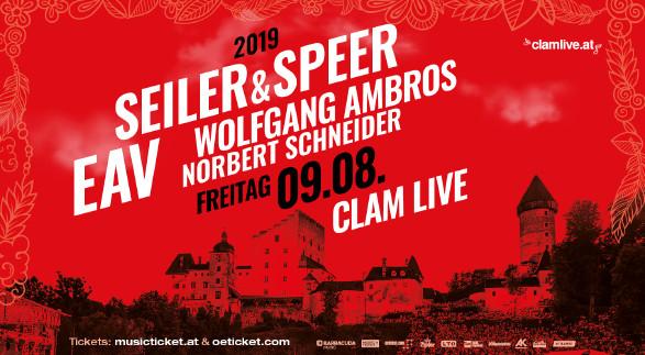 Plakat Seiler & Speer | EAV © -, www.clamlive.at