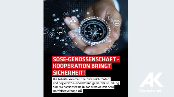 Broschüre: SoSe-Genossenschaft - Kooperation bringt Sicherheit! © -, Arbeiterkammer Oberösterreich