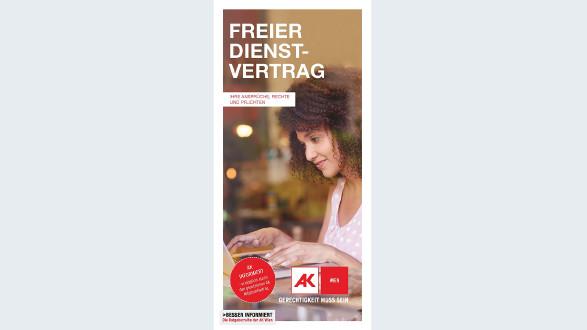 Broschüre: Freier Dienstvertrag © -, AK Wien
