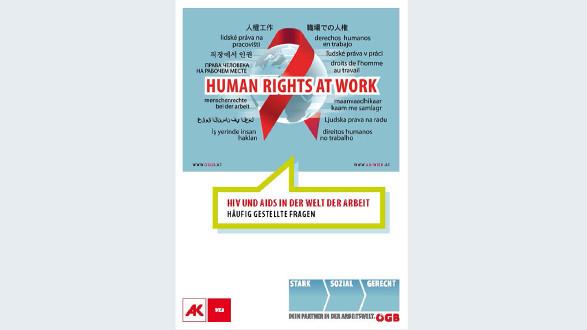 Broschüre HIV und Aids in der Welt der Arbeit © -, Arbeiterkammer Oberösterreich