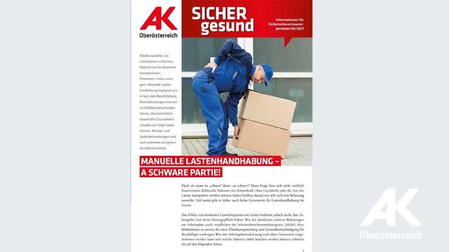 Wandzeitung Sicher gesund © -, AK OÖ