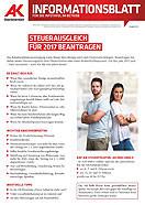 Informationsblatt: Steuerausgleich 2017 © -, AK Oberösterreich