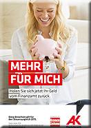 """Titelseite von Broschüre """"Mehr für mich"""" © AKOÖ, -"""