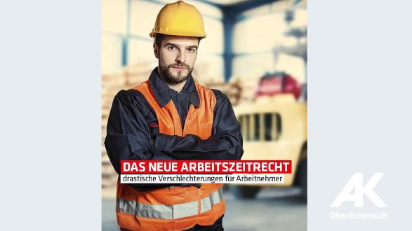 Broschüre Das neue Arbeitszeitrecht © -, Arbeiterkammer Oberösterreich