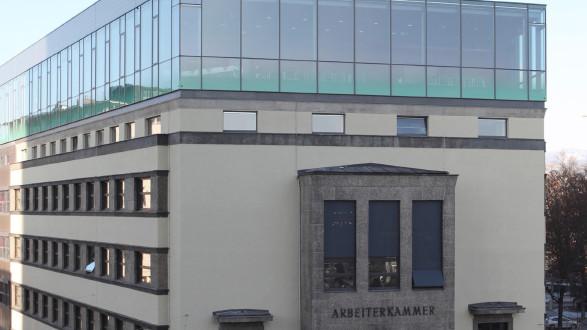 AK Linz Außenansicht © -, Arbeiterkammer Oberösterreich