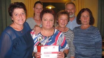 1. Platz: Damenmannschaft des Landeskrankenhauses Rohrbach © AK Rohrbach