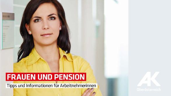 Broschüre Frauen und Pension © -, Arbeiterkammer Oberösterreich