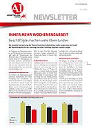 Portrait Arbeitsklima Index 2013 - Mai © AK OÖ, AK OÖ