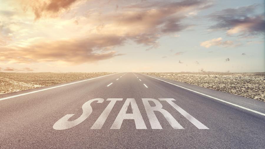 "Straße mit ""Start"" © Sondem , stock.adobe.com"