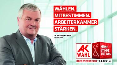 AK Präsident Dr. Johann Kalliauer © -, Arbeiterkammer Oberösterreich
