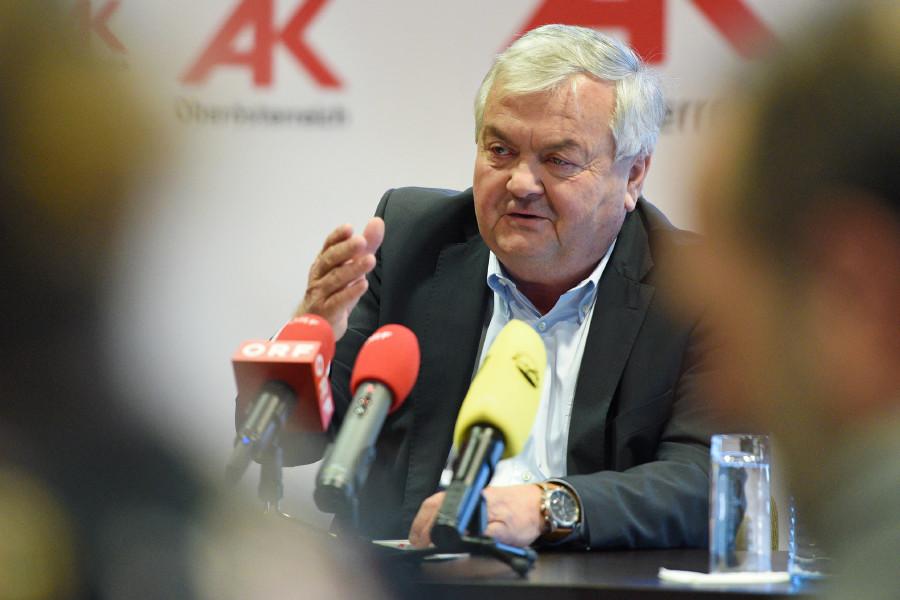 AK-Präsident Dr. Johann Kalliauer © Wolfgang Spitzbart, Arbeiterkammer Oberösterreich