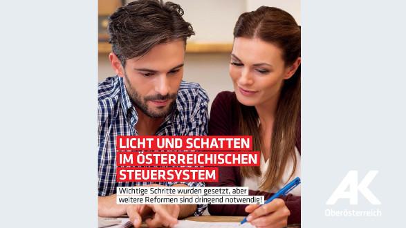 Broschüre Licht und Schatten im österreichischen Steuersystem © -, Arbeiterkammer Oberösterreich