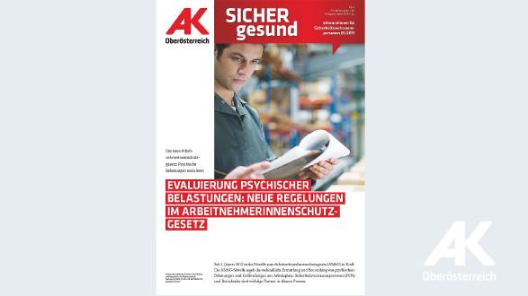 Wandzeitung Sicher Gesund 2015 - Nr. 1 © -, Arbeiterkammer Oberösterreich