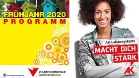 VHS Programm Frühjahr 2020 © -, Arbeiterkammer Oberösterreich