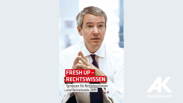 Broschüre Fresh up Rechtswissen © -, Arbeiterkammer Oberösterreich