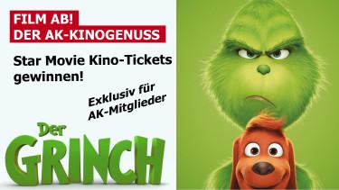 Gewinnspiel Film Ab: Der Grinch © -, star movie / ak oö