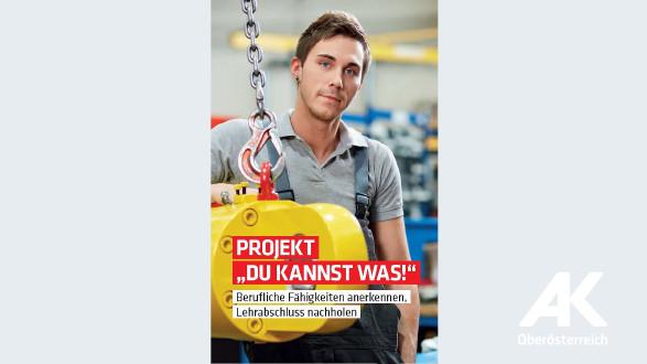"""Projekt """"Du kannst was"""" © -, Arbeiterkammer Oberösterreich"""