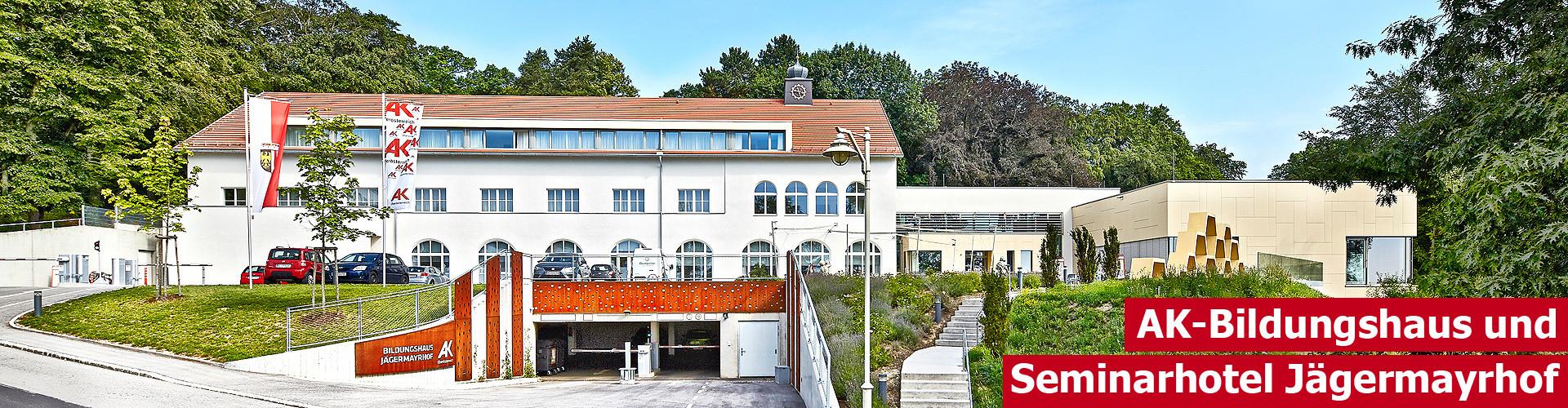 AK-Bildungshaus Jägermayrhof © Erwin Wimmer, Arbeiterkammer Oberösterreich