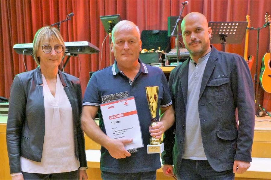 Gewinner der Kegelmeisterschaft Grieskirchen © G.Übleis, Arbeiterkammer Oberösterreich