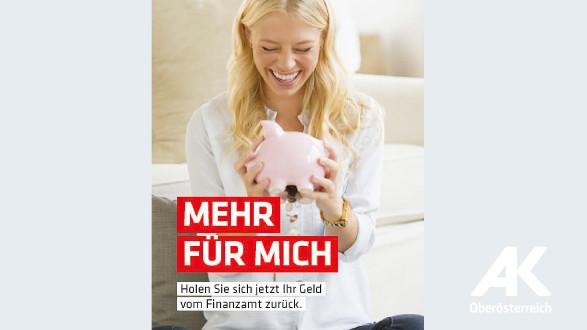 """Broschüre: """"Mehr für mich"""" © -, Arbeiterkammer Oberösterreich"""