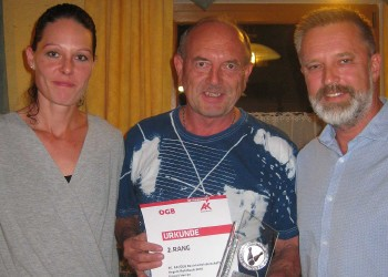 Franz Meisinger, 2. Platz bei der Einzelwertung © AK Rohrbach