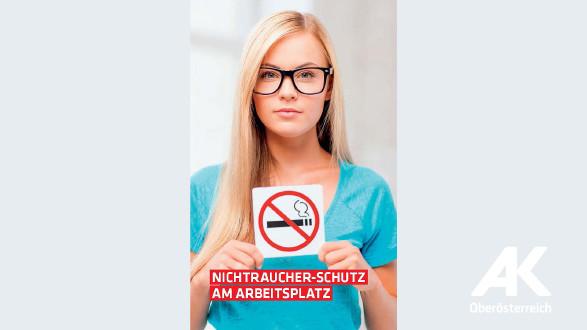 Broschüre Nichtraucher-Schutz am Arbeitsplatz © -, Arbeiterkammer Oberösterreich