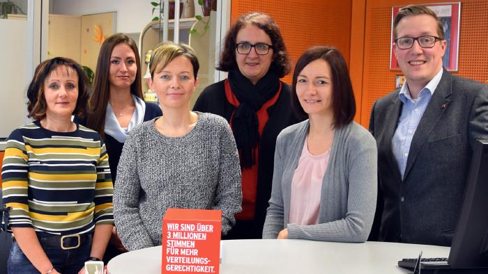 Das Team der AK Braunau © -, Arbeiterkammer Oberösterreich