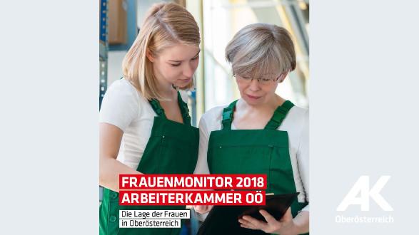 Broschüren-Cover Frauenmonitor 2018 © -, Arbeiterkammer Oberösterreich