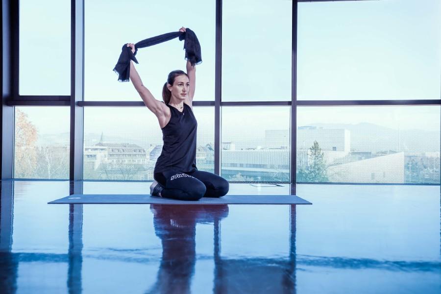 Fitnessübung 9 © Ünal Uzunkaya, AKOÖ