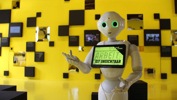Humanoide Roboter Pepper © -, Musuem Arbeitswelt Steyr