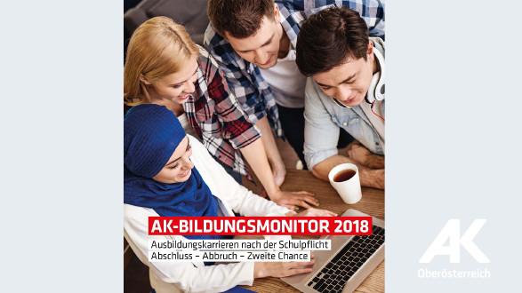 Broschüren-Cover Bildungsmonitor 2018 © -, Arbeiterkammer Oberösterreich