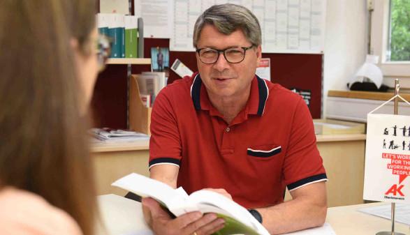 Leiter AK-Bezirksstelle Ried - Siegfried Wambacher © Wolfgang Spitzbart, AK OÖ