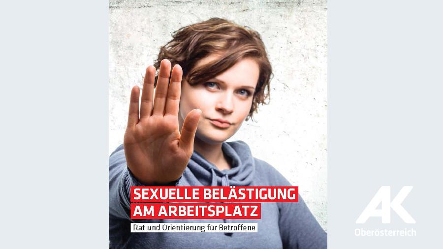 Broschüre Sexuelle Belästigung © -, Arbeiterkammer Oberösterreich