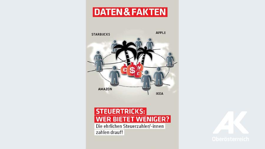 Steuertricks: Wer bietet weniger? © -, Arbeiterkammer Oberösterreich