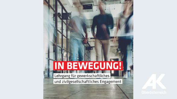 Broschüre: In Bewegung © -, Arbeiterkammer Oberösterreich