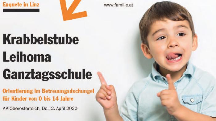Plakat zur Veranstaltung © -, familien - Der Katholische Familienverband