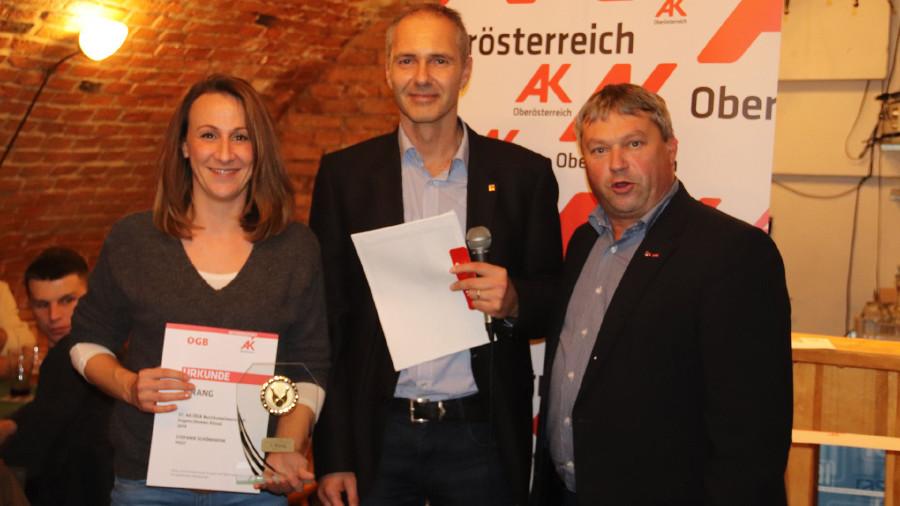 1. Platz Damen Einzel © -, Arbeiterkammer Oberösterreich