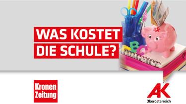 Online-Umfrage: Was kostet die Schule? © -, Arbeiterkammer Oberösterreich