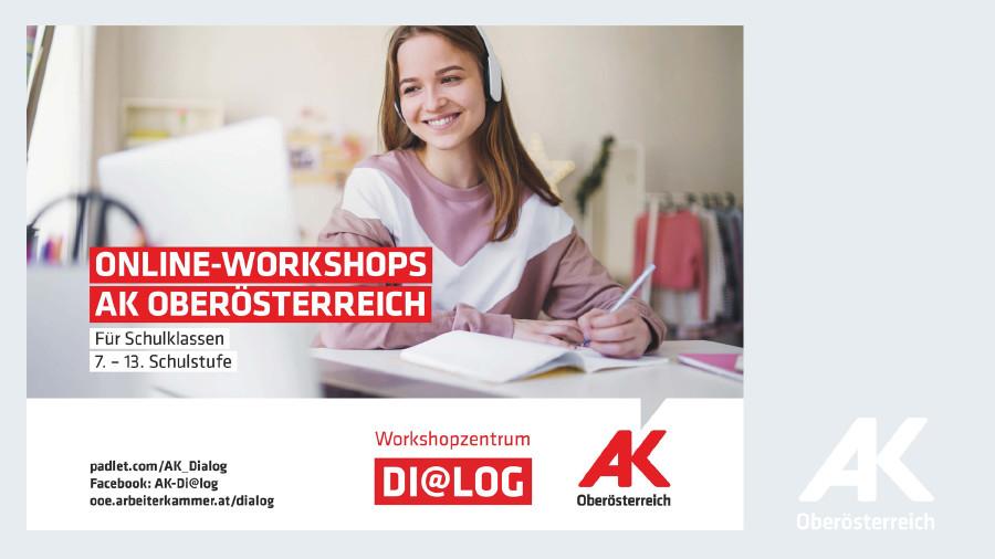 Dialog Online-Workshops © -, Arbeiterkammer Oberösterreich